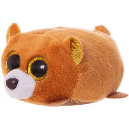 Мягкая игрушка ABtoys Медвежонок коричневый, 10 см
