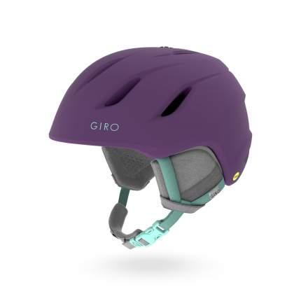 Горнолыжный шлем женский Giro Era 2017, фиолетовый, S