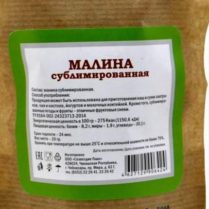Малина Organic Food сублимированная 20 г