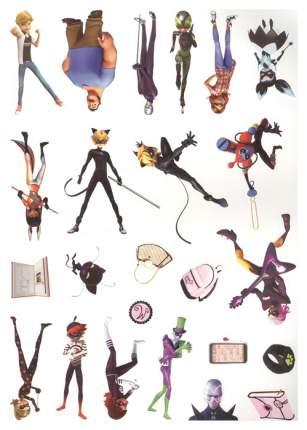 Леди Баг и Супер кот (Активити + 50 Многоразовых наклеек)