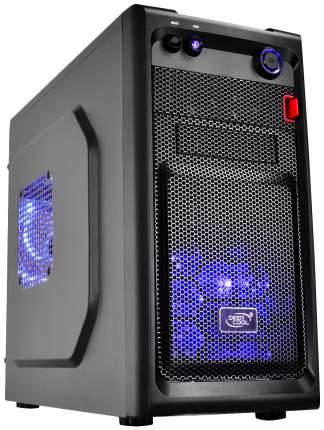 Компьютерный корпус DEEPCOOL Smarter LED без БП (DP-MATX-SMTRLED) black