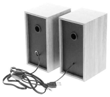 Колонки для компьютера Perfeo Cabinet Белый дуб