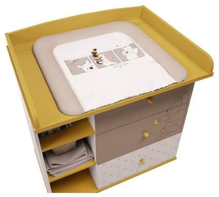 Рамка на комод Polini kids Disney baby 5090 Медвежонок Винни и его друзья желтый