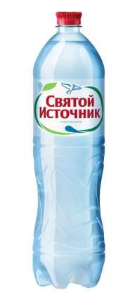Вода питьевая Святой Источник газированная 1.5 л 6 штук в упаковке