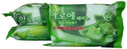 Косметическое мыло Juno Lovelybebe Perfume Peeling Soap Bamboo Salts 120 г