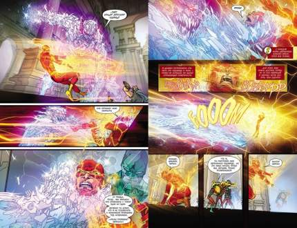 Графический роман Вселенная DC. Rebirth Флэш. Книга 3, Негодяи:перезарядка