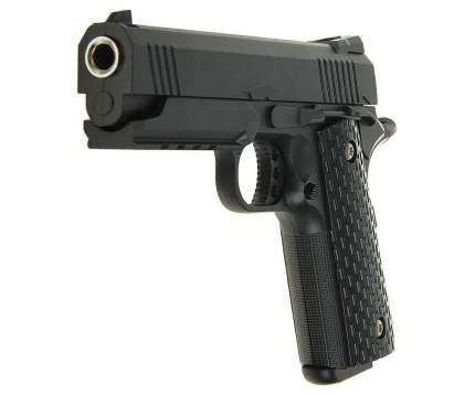 Страйкбольный пружинный пистолет Galaxy  Китай (кал. 6 мм) G.25 (Colt 1911PD Rail)