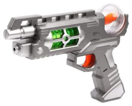 Набор оружия Наша игрушка Бластер и наручный дискомет со световыми и звуковыми эффектами