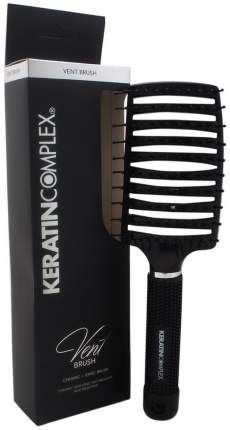 Щетка для волос Keratin Complex Black Vent Brush Boxed