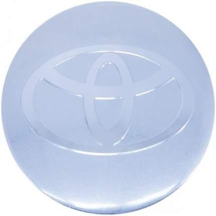 Наклейки на диски литые с логотипом автомобиля Тойота 12050009 D-56 мм серебристые