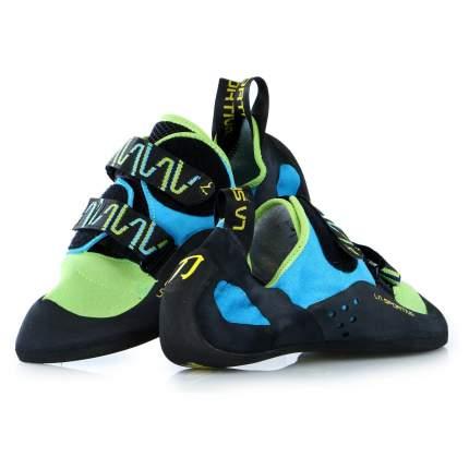 Скальные туфли La Sportiva Katana, green/blue, 44 EU