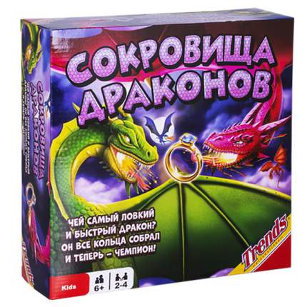 Настольная игра Сокровища драконов Trends 90200
