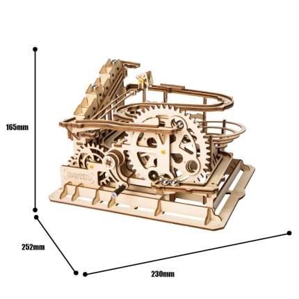 3d деревянный пазл robotime магические механизмы водяное колесо lg501