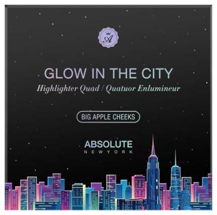 Хайлайтер ABSOLUTE NEW YORK GLOW IN THE CITY MFGH02 Big Apple Cheeks 20 г