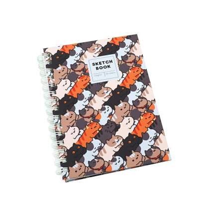 Альбом SKETCHBOOK. On and on (А5, 60л, 120 г/м, спираль),Paper Art,ТС5604807