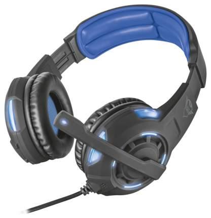 Игровые наушники Trust GXT 350 Radius 7.1 Black/Blue
