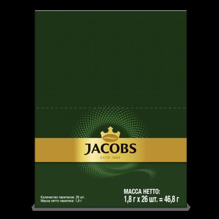 Кофе Jacobs monarch растворимый 25 пакетиков*1.8 г