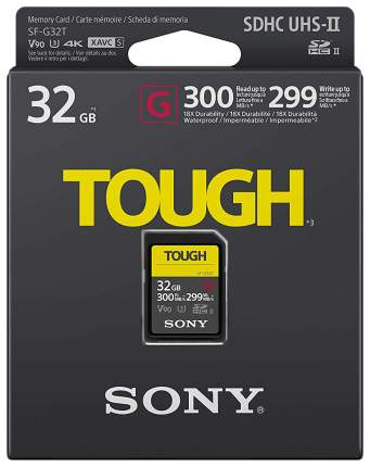 Карта памяти SONY SD TOUGH SF-G32T/T1 32GB
