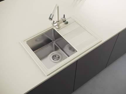 Мойка для кухни комбинированная Florentina Комби 650, жасмин