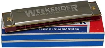 HOHNER Weekender 32 Губная гармоника тремоло