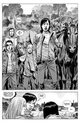 Комикс Ходячие мертвецы. Том 28, Верная смерть