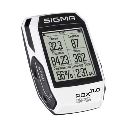 Велокомпьютер Sigma Rox 11 GPS Set белый