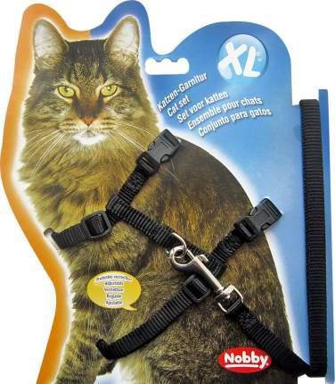 Шлейка для кошек NOBBY XL черная