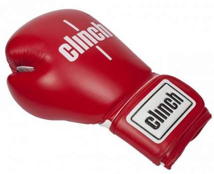 Боксерские перчатки Clinch Fight красные 10 унций