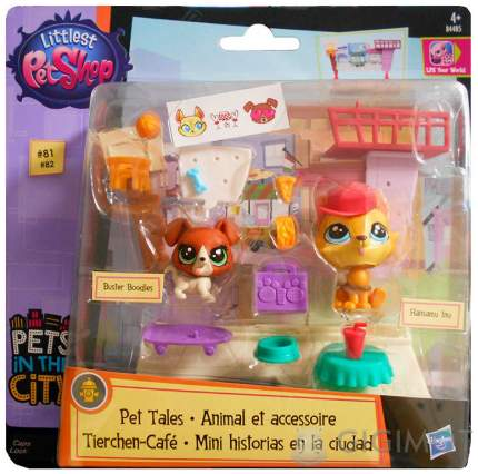 Игровой набор Hasbro Littlest Pet Shop Рассказы о зверюшках в ассортименте
