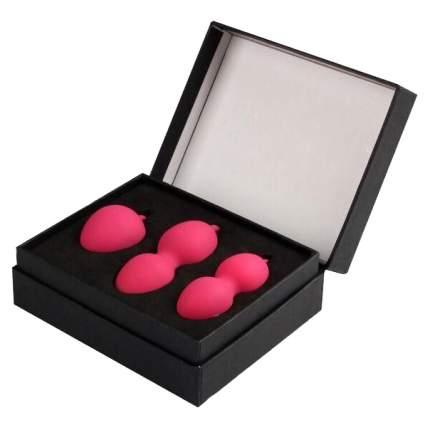 Вагинальные шарики с переменным центром тяжести Nova Balls, розовый
