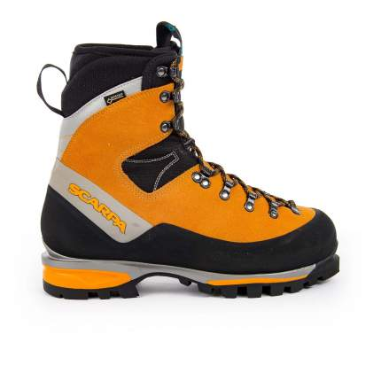 Ботинки мужские Scarpa Mont Blanc GTX, suede orange, 41.5 EU