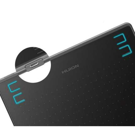 Графический планшет Huion HS64 Black