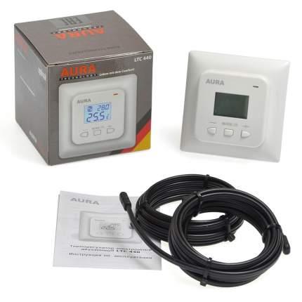 Терморегулятор для теплых полов Aura Technology LTC 440 белый