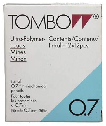 """Грифели для механических карандашей Tombow """"Mono"""", 0,7 мм, 2H, 12 штук"""