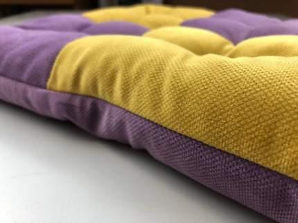 Подушка на сиденье Helfest artp1002-3, желто-сиреневый
