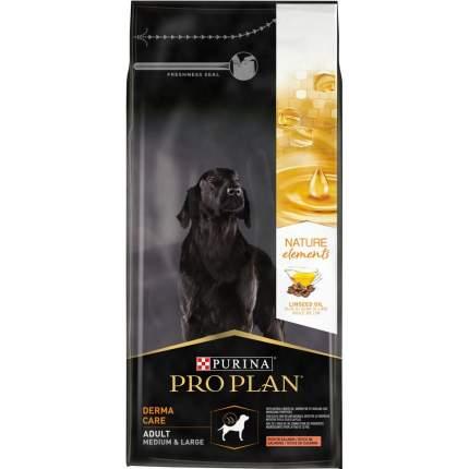 Сухой корм Pro Plan Nature Elements для собак средних и крупных пород, лосось, 10 кг