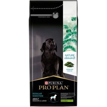 Сухой корм Pro Plan Nature Elements для собак средних и крупных пород, ягненок, 10 кг