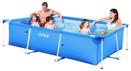 Каркасный бассейн Intex Rectangular Frame 28272 300x200x75 см