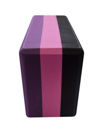 Original FitTools Блок для йоги трехцветный премиум в коробке Original FitTools FT-3DBLOCK