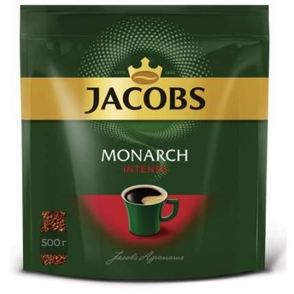Кофе Jacobs монарх Intense растворимый 500 г