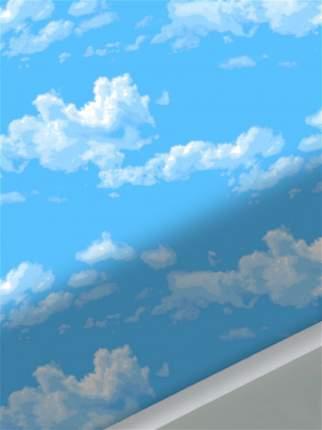 Простынь на резинке Сказка -Сlouds- натяжная 180х200х26 см евро
