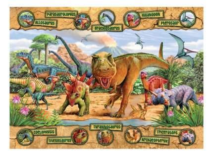 Пазл ravensburger «динозавры» xxl 100 элем.