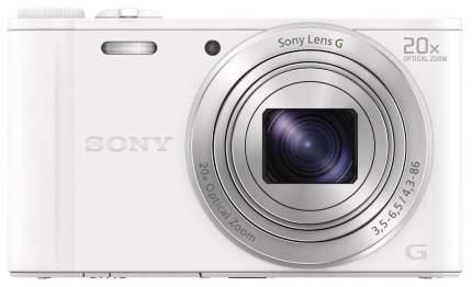 Фотоаппарат цифровой компактный Sony CyberShot WX350 White