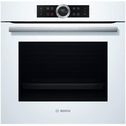 Встраиваемый электрический духовой шкаф Bosch HBG6750W1 White
