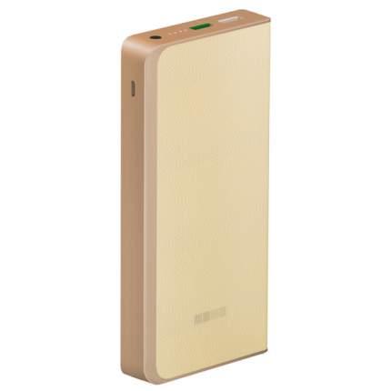 Внешний аккумулятор InterStep PB12000QCW 12000 мА/ч (IS-AK-PB1200QCW-000B20) Beige