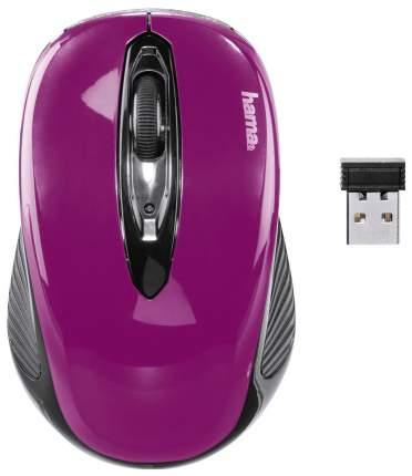 Мышь Hama AM-7300 фиолетовый оптическая (1000dpi) беспроводная USB для ноутбука (2but)