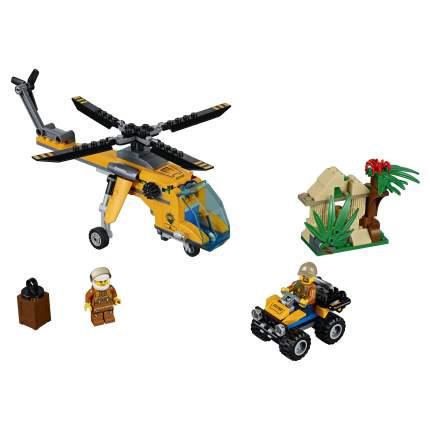 Конструктор LEGO City Jungle Explorers Грузовой вертолёт исследователей джунглей (60158)