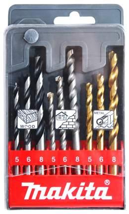 Универсальный набор сверл для дрелей, шуруповертов Makita D-08660