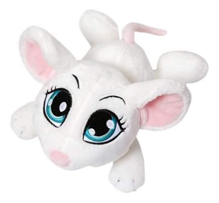 Мягкая игрушка NICI Мышка белая, лежачая, 15 см