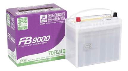Аккумулятор автомобильный автомобильный Furukawa Battery FB9000 70B24R 55 Ач